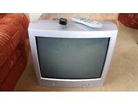 Old style Toshiba Colour Television - Model 21N21B