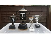 Assorted Golf Trophies