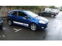 fiat grande punto 57 plate 2007 in good condition, very sporty