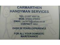 The Carmarthen handyman