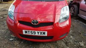 Toyota YARIS, 2010 year low mileage of 53000, 1yr Mot