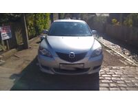 MAZDA 3 2004 5 DOORS,MOT TILL MARCH 2018, 3 KEEPERS FROM NEW