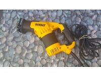 DeWalt DWE357 Compact Reciprocating Saw 240V BRAND NEW