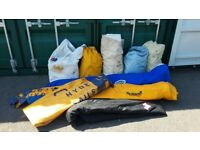 Joblot used X-One design Yacht Sails.