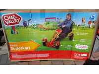 Boxed, new, Chad Valley Pedal Superkart, go cart, go kart, pedal car, childs , childrens, 3 years +