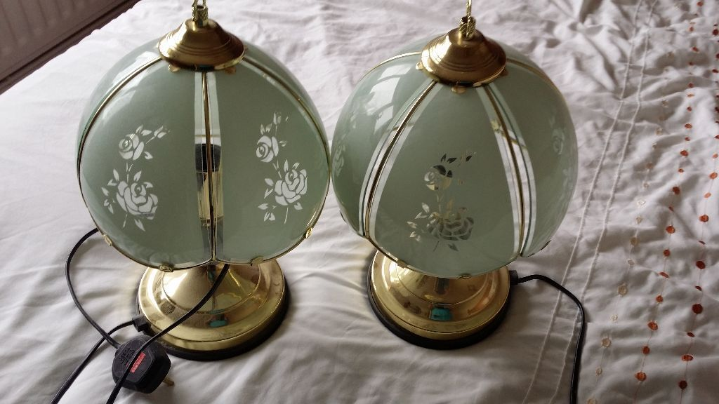 Touch bedside lamps lights in poole dorset gumtree - Wall mounted touch lamps bedside ...