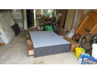 Standard Double 2 Part Bed Base with 2 Draws