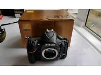Nikon d810 camera body. Low shutter count