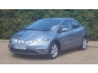 HONDA CIVIC 1.8 SE 58PLATE 2008 1P/OWNER 96000 MILES FULL SERVICE HISTORY 6 SPEED MANUAL A/C ALLOYS