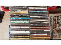 JOBLOT CD ALBUMS X 180 INDIE ROCK Heavy METAL BritPop Alternative Christmas Present viewing HA35JA