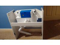 Shades Bathroom units gloss white