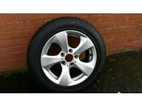 Bmw f30 alloy with tyre