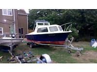 19ft halcyon boat