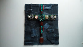 Free Repurposed Upcycled New Christian Art, The Holy Cross