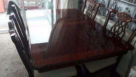 Table & 4 chairs for sale £150.00 ono - can deliver local