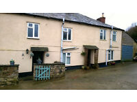 Charming 2 bed semi detached, unfurnished, cottage in rural hamlet 2 miles south of Bodmin