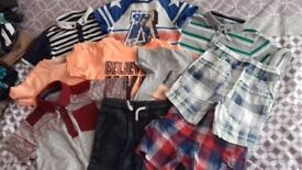 Boys summer bundle age 4-5 (10 items)