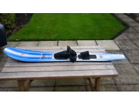 "Waterski. Slalom. Mono. Connelly Mid SX ""Wide"" Ski. 550 square inch."