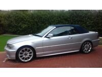 bmw e46 coupe or convertible bonnet in silver wanted