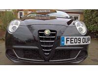 2009 Alfa Mito Turismo 1.4 Full History 12 months MOT Low Miles Black Stunning, Low Insurance