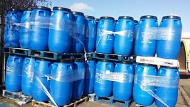 £19.95 PLASTIC BARRELS 290 LTRS FOR SALE IN COVENTRY PLEASE HURRY WHILE STOCK LAST