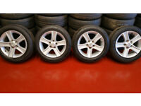 Mazda Genuine 16 alloy wheels + 4 x tyres 205 55 16