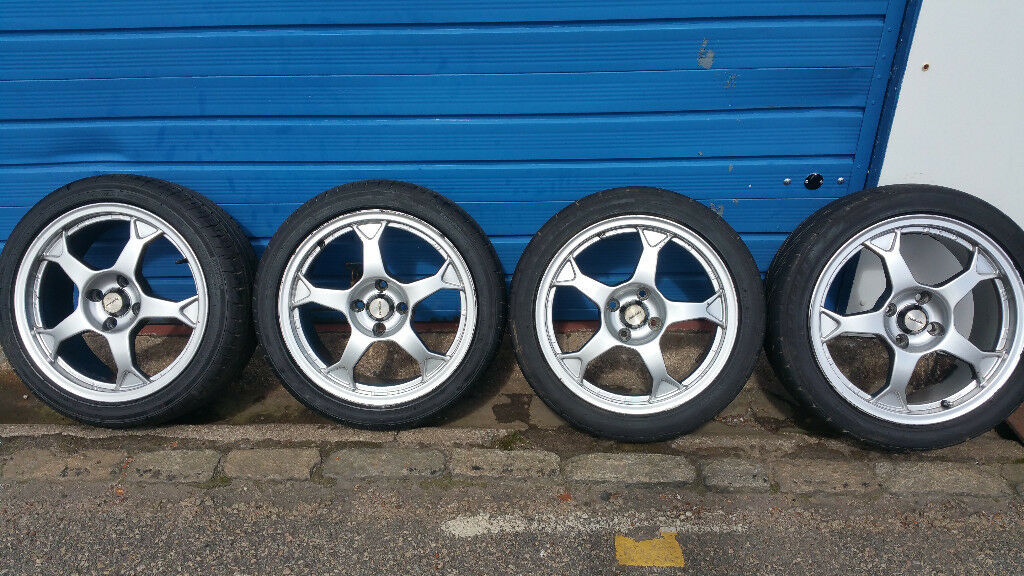 Team Dynamics Pro Race 2 alloy wheels 16 '' + 4 x tyres 195 45 16