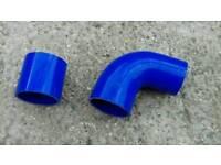 Intercooler silicone pipe connectors