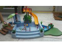 Playmobil swimming pool