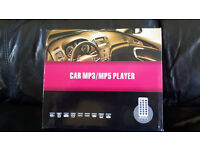 BRAND NEW CAR STEREO RADIO MP3 USB2 SD CARD + REMOTE CONTROL