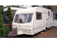 2 Berth Avondale Quantock Touring Caravan 1997