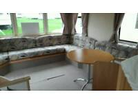 Creswell towers 8 berth newly refurbished private caravan let