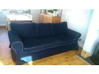 Ektorp 3 seater sofa (matching 3 seater sofa bed available on different ad)