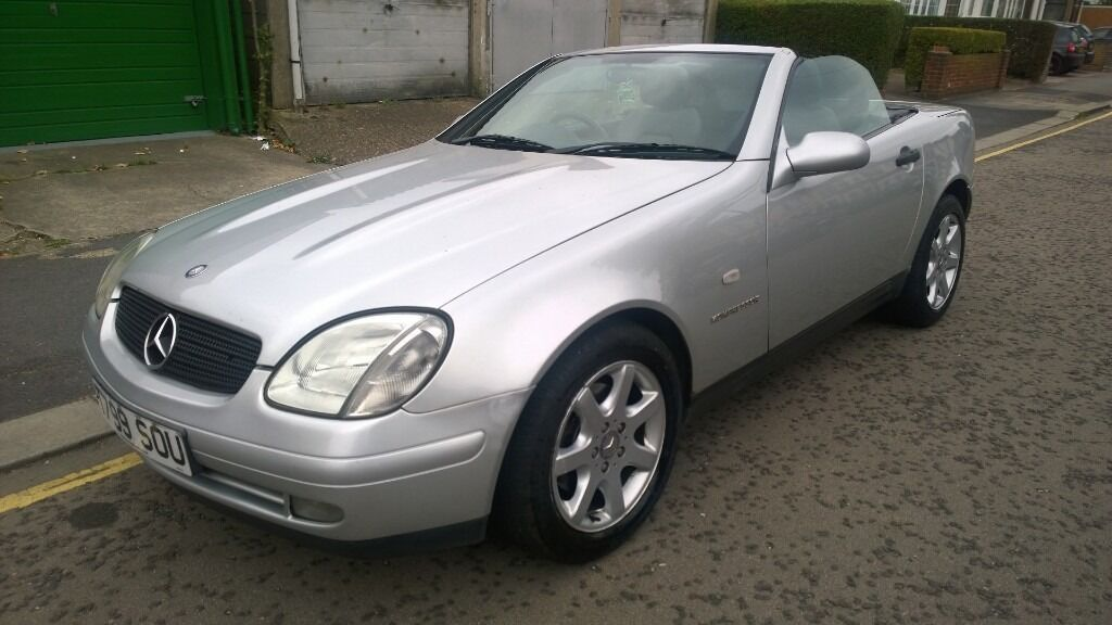 MERCEDES SLK 230K AUTO HARD TOP CONVERTIBLE RECENT MOT, HPI CLEAR