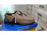 Brand new mens brown lace shoes