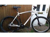 "Specialized Hardrock mountain bike, hydraulic disc brakes, mavic wheels, sram/shimano kit. 26"""