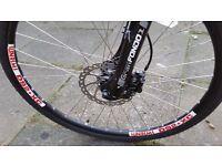 "KONA 26"" Bike Hydaulic brakes 27SP DEORE XT set Susp WARRANTY DELIVERY NOT Trek Specialized Carrera"