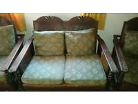 Antique bergere sofa