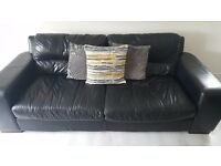 Sofas for sale - 3 Seater, 2 seater and footstool