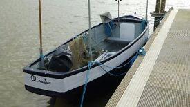 Fishing Boat For Sale - Fibreglass Lower 16FT