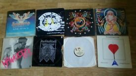 14 X HAWKWIND CAPTAIN JESUS LLOYD LANGTON vinyls LP's