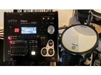 Upgrade your electronic kit with a Roland TD 30V Sound Module and PD 128S Snare