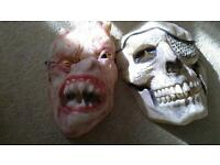 Monster masks.