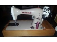 New home sewing machine in excellent condition. Fully working.