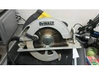 DEWALT CIRCULAR SAW 240V DWE575