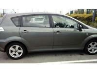 Toyota verso 1.8 petrol 2005 extremely good