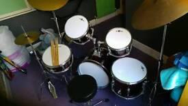 Kids Gear 4 music 8 piece drum kit