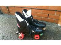 Bauer turbo 2 skates in good used condition can deliver or post!