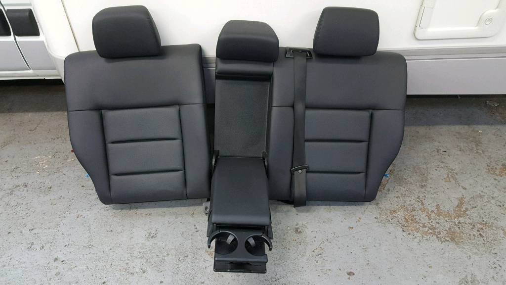 Mercedes ESTATE w212 eclass leather rear seat BACK WITH ARMREST
