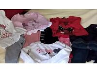 Assorted Bundle of Girls 18-24 Months 8 Tops/4 /Leggings//X 2 Jumpers